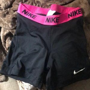 Nike pro bike shorts.